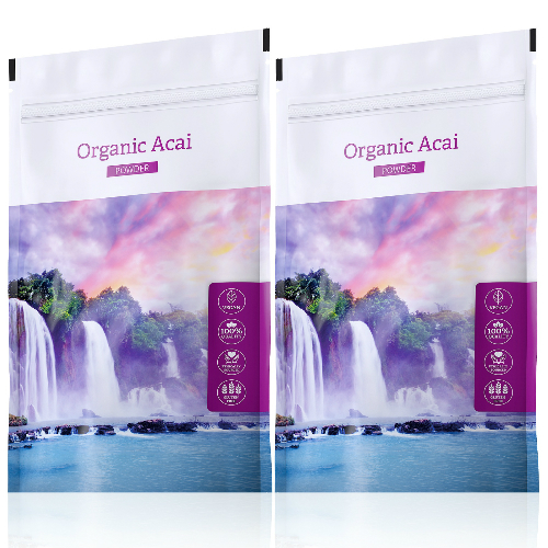 Energy Organic Acai powder  100 g + 100 g