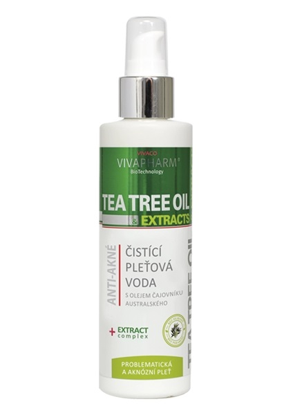 Pleťová voda tea tree oil 200ml