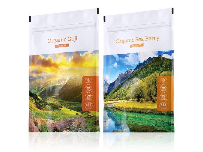 Energy Organic Goji powder + Organic Sea Berry powder