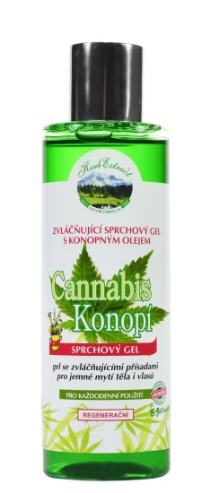 Sprchový gel Cannabis HERB EXTRACT 200ml
