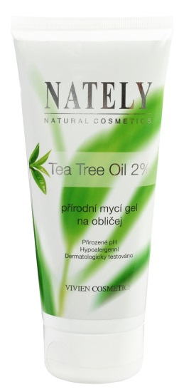 Mycí gel na obličej s Tea Tree Oil NATELY 200ml