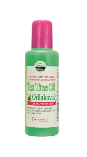 Vivaco Odlakovač na nehty s Tea Tree Oil HERB EXTRACT 125 ml