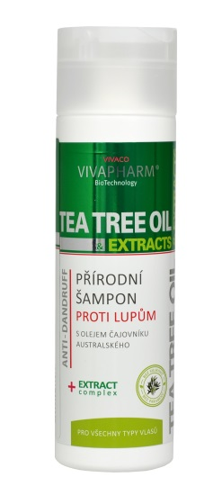 Vivaco Šampon na vlasy s Tea Tree Oil VIVAPHARM 200 ml