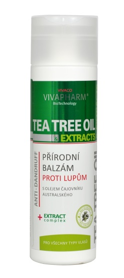 Vivaco Balzám na vlasy s Tea Tree Oil VIVAPHARM 200 ml