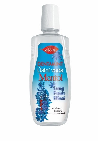 Dentamint ústní voda MENTOL LONG FRESH EFFECT 500 ml