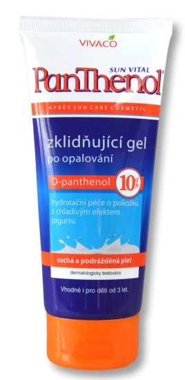 Panthenol gel 10% v tubě 200ml