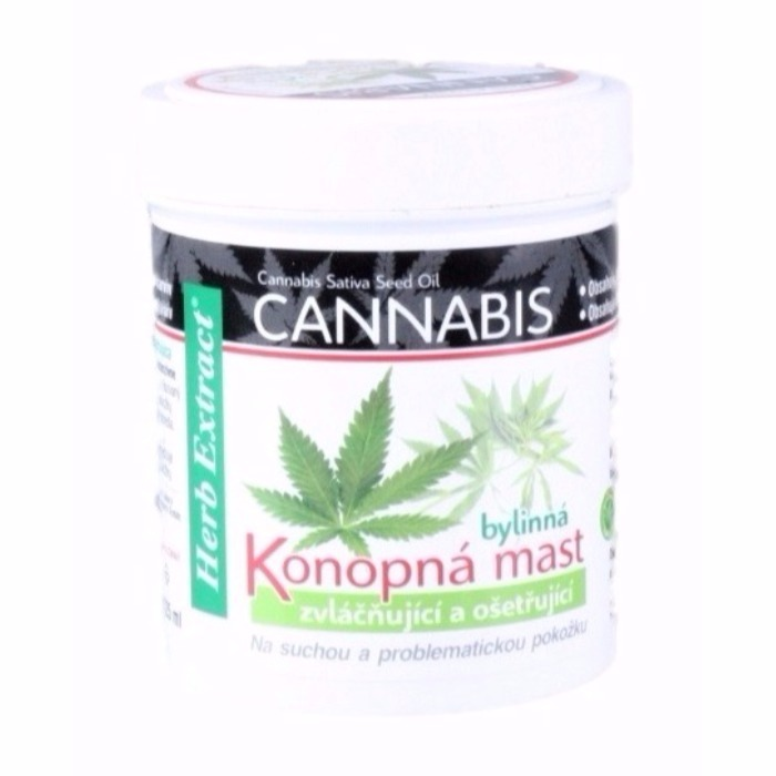 Konopná mast 125ml herb extract