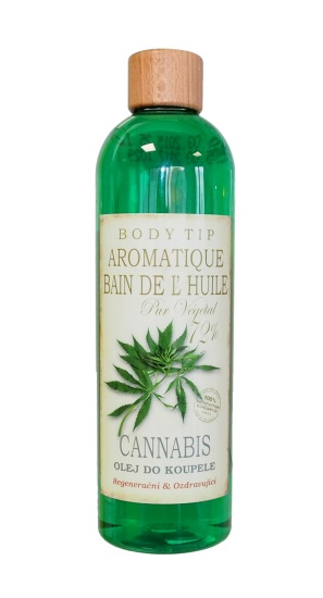 CannaCare olej do koupele body tip cannabis 500ml