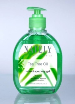 Intimní sprchový gel s Tea Tree Oil 300ml NATELY