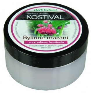 Kostivalová mast 100ml herb extract